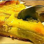recette Une tarte à la rhubarbe facile : comptez vos cuillèrées