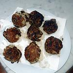 recette Keftas de sardines à l'huile (galettes)