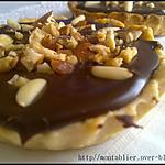 recette tartelettes fourrée crème et ganache: