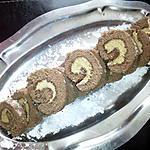 recette roule au chocolat et capuccino