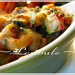 recette Macaronis marinara gratinés au boeuf