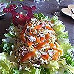 recette Salade de papillons à la truite fumée et ses champignons