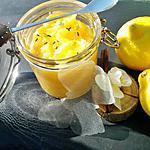 """recette Lemon curd """"au micro ondes"""""""