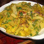recette Poulet aux poires et au curry