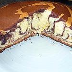 recette Gâteau marbré (avec lait concentré)
