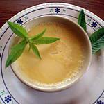 recette Petits flans à la verveine citronnelle