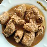 recette Sauté de porc au curry.
