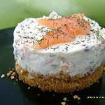 recette cheescake au saumon fumé