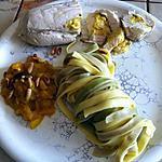 recette Poulet farci à la mangue (Coop) (photo perso)