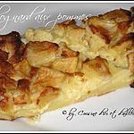 recette Flognard aux pommes