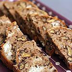 Cake farine de sarrasin, chèvre et noix