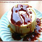 recette Petits gâteaux à l'orange et au chocolat