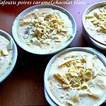 recette Clafoutis de poires caramel, chocolat blanc