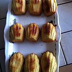 recette Madeleines à la fleur d'Oranger (Cointreau)(Vahiné)