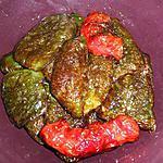 recette Poivrons grillés à l'huile