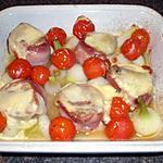 recette Médaillons de porc au cantal