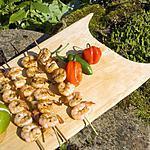 recette LM Prrawns's style crevettes.