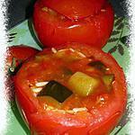recette Tomates farcies en ratatouille
