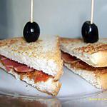 recette petits sandwiches apéritif méditérannéen