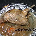 recette caille en sauce escabeche