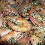 recette crevettes à la diable
