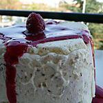 recette Ooo Terrine glacée au mascarpone, framboises, meringues & noisettes ... ooO