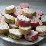 recette petits sablés au sucre glace