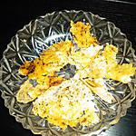 recette chips au parmesan SANS GRAISSE