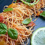 recette Vermicelle de riz à la provençale