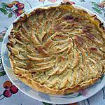 recette tarte aux pommes et ala franchipane