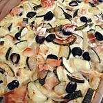 recette Clafoutis courgette et chevre