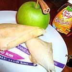 recette Samossas pomme miel cannelle