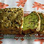 recette Cake moelleux aux olives,au beaufort et au jambon (photo perso)