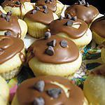 recette Cupcakes amandes, nappage chocolat au lait