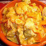 recette Filet Mignon de Porc au Curry Légumes et Ananas