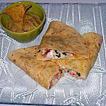recette Guacamole et quesadillas au poulet