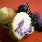 recette muffins des vendanges