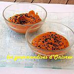 recette Purée de carottes au cumin noir