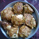 recette CHOU FLEUR EN OMELETTE
