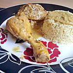 recette Tajine de poulet colombo