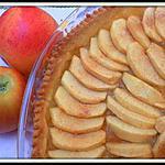 recette Tarte aux pommes (pâte brisée de Christophe felder)