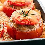 recette Tomates farcies végétariennes à la ratatouille