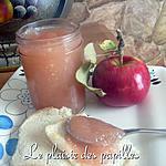 recette Compote de pommes à la vanille