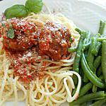 recette Boulettes de porc sauce tomate