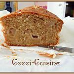 recette CAKE POMMES CANNELLE ET QUATRE EPICES