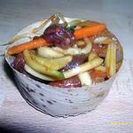 recette salade de boeuf thaï (réception)
