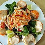 recette Salade de homard ou langouste