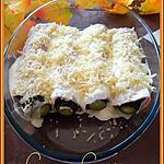 recette Courgette au jambon gratiné