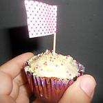 recette Cupcake beterrave glaçage creme au beurre.