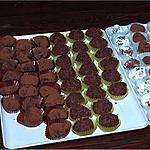 recette Truffes de Chocolat au Poivre Noir (Carrefour)
